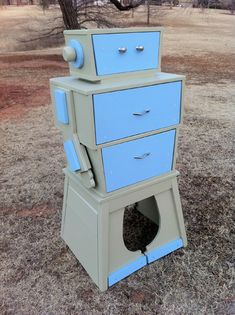 Parts made into Robot Dresser. Awesome.