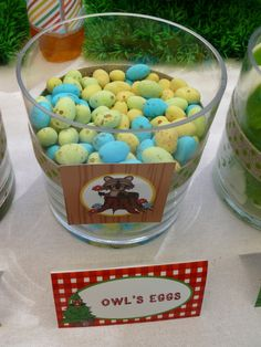 Woodlands Party - Owl's Eggs