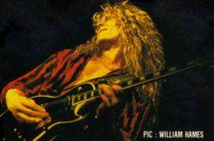 John Sykes of Whitesnake, Rock in Rio 1985.