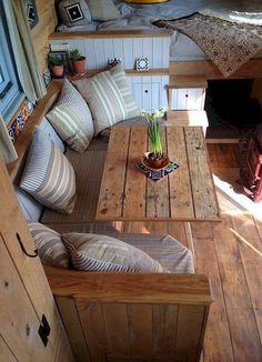 Best camper interior decoration ideas 46