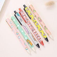 Kawaii Pen Shop - Pop Funk Gel Ink Pen Set. Free worldwide shipping!