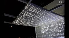 PERGOLA - ΠΕΡΓΚΟΛΑ Perforated Aluminum pergolas and awnings with unique patterns for commercial or residential use. Metalaxi Innovative Architectural Products. www.metalaxi.com Life is in the details. Aluminum Pergola, Innovation, Commercial, Louvre, Tower, Patterns, Architecture, Unique, Building