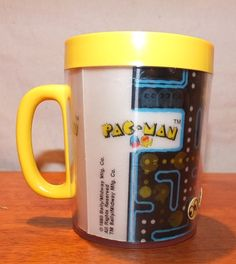 1980 Pac-Man Holographic Thermo Cup  Never by MoonbearConnections