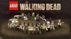 The Walking Dead Show & Game Lego crossover - LOL - wish this were a real thing! Walking Dead Lego, Walking Dead Show, Walking Dead Zombies, Fear The Walking Dead, Walker Stalker, Rick Y, Nerd Love, Dead Inside, Stuff And Thangs