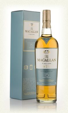 The Macallan Fine Oak 15 Bottling Note An exceptional 15 year old from the Macallan. This was matured in a mix of sherry and bourbon, one of the best from the fine oak range. (£43.45)