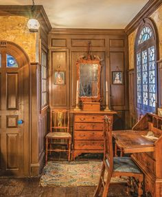 Diy Interior Furniture, German Houses, Classic Library, Traditional Furniture, House And Home Magazine, Classic House, House Goals, Colonial, Restoration