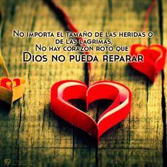 Imagen: Dios repara tu corazón herido - Logos C.D.A - Expresando Palabra de Vida