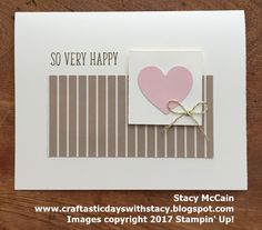 Hello everyone! Today I'm sharing my alternative ideas for the May 2017 Paper Pumpkin kit - Sprinkled with Love. Remember that those subsc...