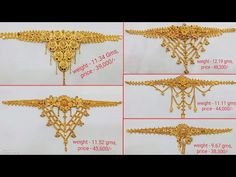 Gold Bangles Design, Gold Jewellery Design, Diamond Jewellery, Gold Bridal Earrings, Gold Choker Necklace, Gold Jewelry Simple, Simple Necklace, Full Hand Mehndi Designs, Jewelry Photography