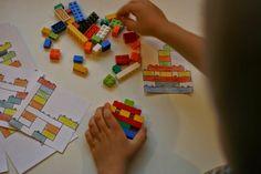 edu-mata: Gra dla dzieci z użyciem klocków LEGO.