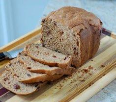 Pão Integral de Passas - Máquina de Pão