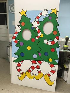 Winter Wonderland Photo Booth Prop foam board Christmas