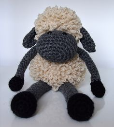 Ravelry: Sheldon the Sheep pattern by Curly Girl Coop