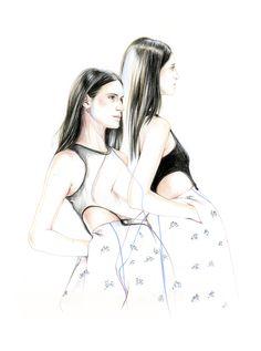 Daiane Conterato for Christian Dior spring 2015  Do you like my tight sweater ? - Caroline Andrieu