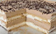 Recepty | Báječná vareška | Page 3 Baking Recipes, Cookie Recipes, Macedonian Food, Kolaci I Torte, Czech Recipes, Mini Cheesecakes, Pie Dessert, Sweet Cakes, Homemade Cakes