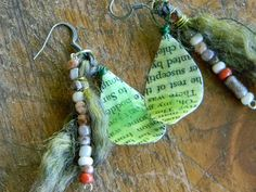 Artistic Endeavors 101: 15 Jewelry Projects From Up Cycled Materials