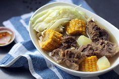 Filipino: Nilagang Baka (Boiled Beef Soup, any cut works)