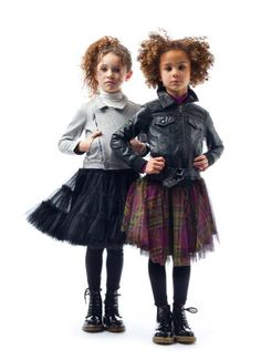 Kids' collection Winter 2011 from Jean Paul Gaultier -- Some cool looking stuff here.