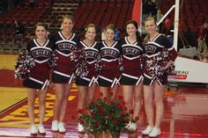 Basketball cheerleaders 2014