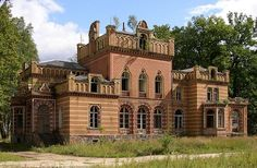 Manor house of the family Gentz in Neuruppin-Gentzrode in Brandenburg, Germany