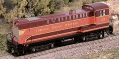 Chicago Great Western DS4-4-1000 #40