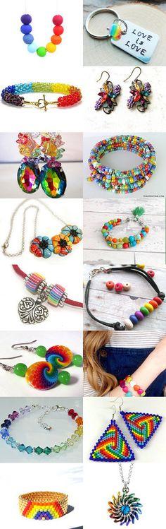 Happy Happy Rainbow by Jessi on Etsy--Pinned+with+TreasuryPin.com
