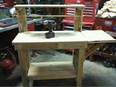 Wood Pallet Potting Table