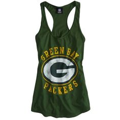 American Eagle Outfitters Green Bay Packers Vintage Tank - Polyvore