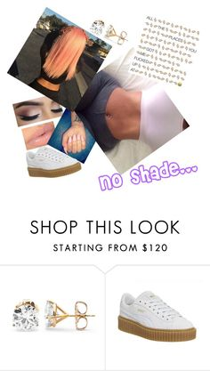 """Picking the girls up"" by paigedenaiya ❤ liked on Polyvore featuring Puma and SeductiveRebel"