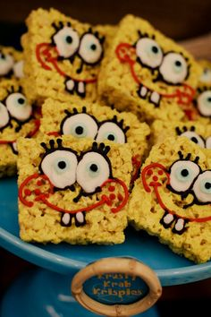 sponge bob... Looks like something for josh and Zechariah's birthdays!!! @Lauren Davison Davison Davison O'Hora