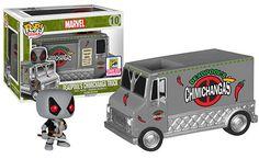 SDCC 2015 Exclusive Funko Pop! X-Force Deadpool Chimichanga Truck