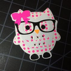 I made 5 of these adorable owls tonight. I'm going to add paper clips to them tomorrow and add them to my shop. :-) what do y'all think?! #mgtsouthernboutique #planner #owl #plannerclip #plannergeek #planning #planningwithbelinda #heidiswapp #kk #pink #planningcommunity #planneraddict #addict #plannernerd #owlwithglasses #glasses #dork #etsy #etsyseller #etsymade #handmadeetsy #handmadewithlove #handmade #shopetsy #bow #hairbows #girlie #planneraccessories #plannerdecoration