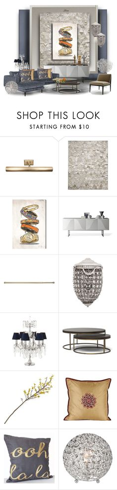 """""""I love Eichholtz"""" by lenadecor ❤ liked on Polyvore featuring interior, interiors, interior design, home, home decor, interior decorating, Jayson Home, Pure Rugs, Oliver Gal Artist Co. and Linfa Design"""