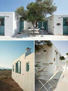 a home on antiparos, greece home design design interior Mediterranean Houses, House By The Sea, My House, Casa Patio, Greek House, Belle Villa, Cabana, My Dream Home, Dream Homes