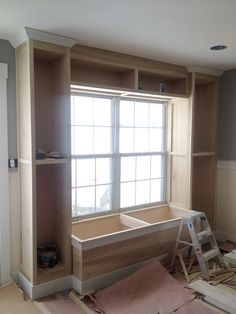 Drew is finishing up his latest project. A 1600 sq/ft condo remodel. This week he is working on the finish trim. And with that his built-...
