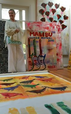 Up this week in Zippertravel's PlaceMaker Series: Painter Eamon Harrington in Malibu California Malibu Beaches, Malibu California, My Muse, Veronica, Paintings, Digital, Frame, Inspiration, Art