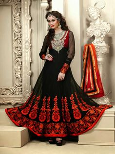 Latest fashion coming......Anarkali frock in unique style