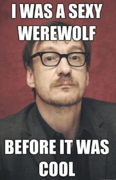 Remus Lupin was a sexy werewolf before it was cool. <3 Lupin