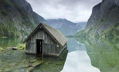 German Fishing Hut by Jonathan Andrew