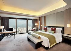 All sizes | The St. Regis Shenzhen—Executive Deluxe City View Room | Flickr - Photo Sharing!