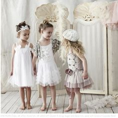 cute unconventional flower girl styles