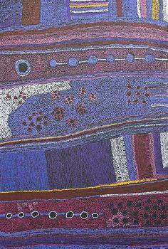 © Artiste Aborigène Maringka-Baker #painting #aboriginal #aborigene #contemporain #design #art #peinture
