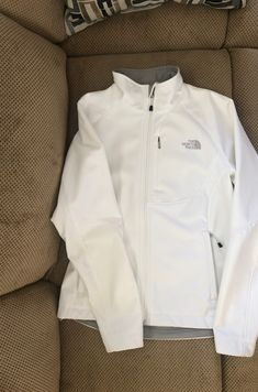 White North Face Apex Jacket Womens M on Mercari