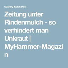 Zeitung unter Rindenmulch - so verhindert man Unkraut   MyHammer-Magazin