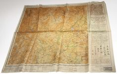 Escape and evasion map - Escape and Evasion Maps, also called silk maps or cloth maps, are maps made for servicemen to be used in case of capture or being caught behind enemy lines. Developed during World War II, these maps were used by many American and British servicemen to escape from behind enemy lines. These maps could be used without a rustle or crackling.