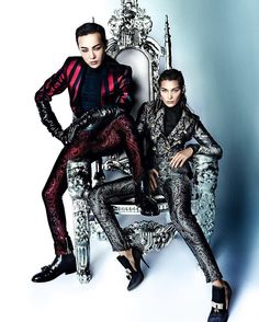 GDragon ❤ GD Inside VOGUE Me with Bella Hadid #Bigbang
