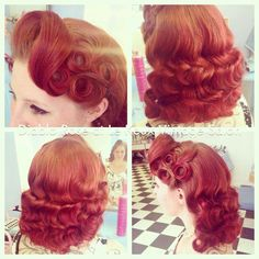 Absolutely stunning from Diablo Rose, can imagine this looking amazing on one of our 40's beauties
