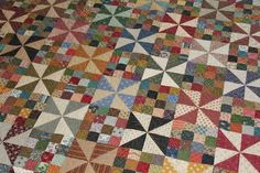 Stitch by Stitch: civil war quilting 16 Patch Quilt, Strip Quilts, Scrappy Quilt Patterns, Scrappy Quilts, Half Square Triangle Quilts, Square Quilt, Quilting Projects, Quilting Designs, Quilting Ideas