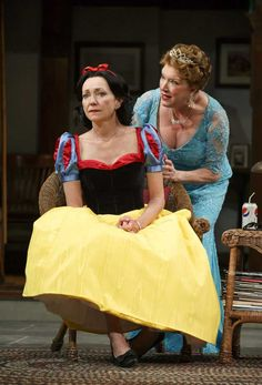 Julie White & Kristine Nielsen in Vanya and Sonia and Masha and Spike. #Broadway #Theater