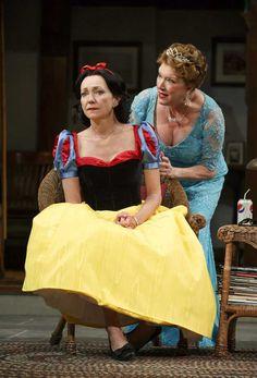 Julie White & Kristine Nielsen in Vanya and Sonia and Masha and Spike. #Broadway #Theater